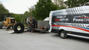 PneuČR mobilní pneuservis 2